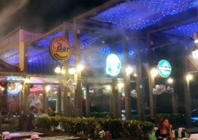 炎夏露天酒吧,有了它生意就增加。